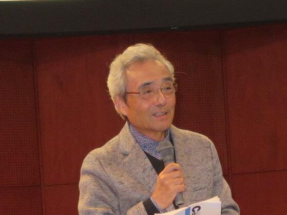 村田同窓会会長の閉会挨拶