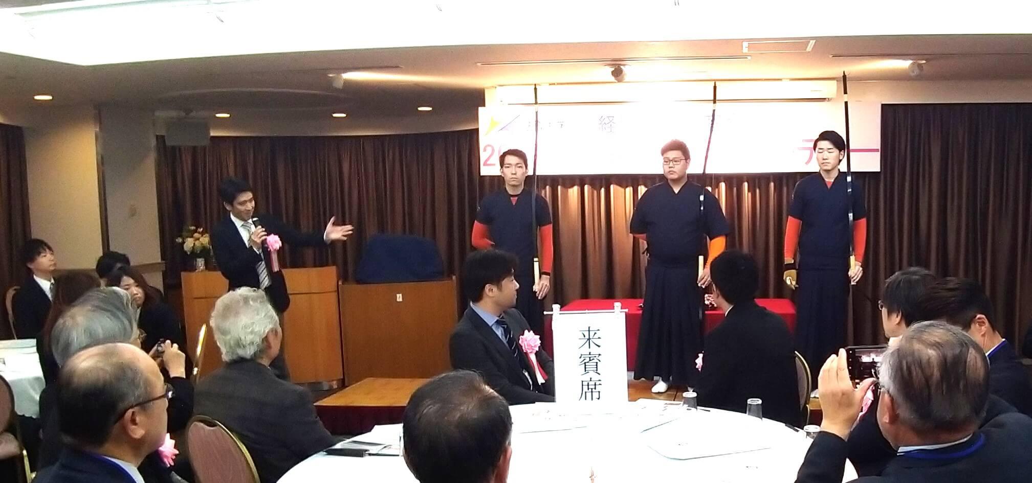 川島弓道部長による弓道部紹介